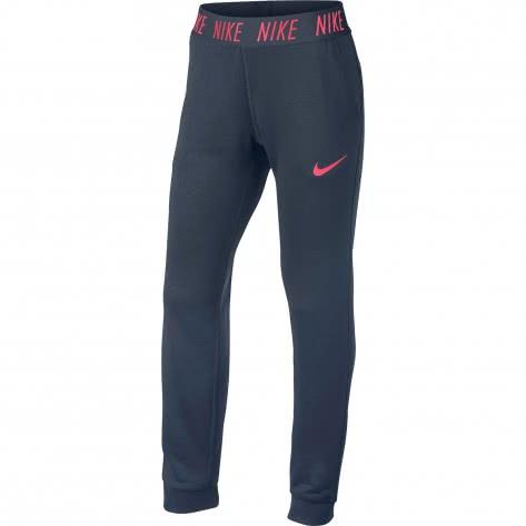 Nike Mädchen Trainingshose Dry Pant Core Studio 859969 Thunder Blue Racer Pink Größe 128 137,137 146,146 156,156 166