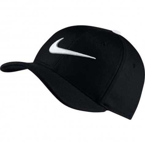 Nike Kinder Kappe AeroBill Classic99 Training Cap 872686 Black White Größe One size
