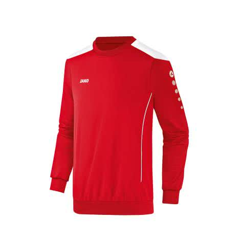 Jako Sweatshirt Cup 8883 Rot Weiß Größe 116,128,140,152,164,L,M,S,XL,XXL,XXXL