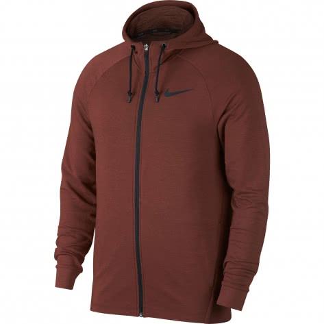 841eca7bdd7344 Nike Herren Sweatjacke Dry Training Hoodie FZ HPRDR LT 889383-250 L Pueblo  Brown