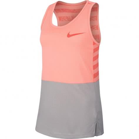 Nike Mädchen Tanktop Dry Tank MDS 890291 Lt Atomic Pink Rush Coral Größe 128 137,137 146,156 166