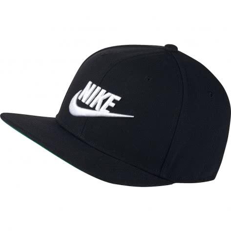 Nike Kappe Sportswear Pro Cap 891284-010 Black/Pine Green/Black/White | One size