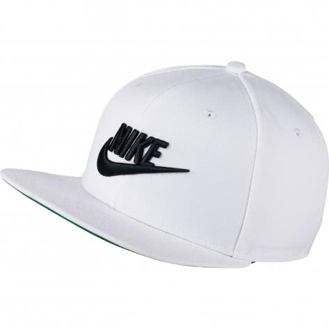 Nike Kappe Sportswear Pro Cap 891284-100 White/Pine Green/Black/Black | One size