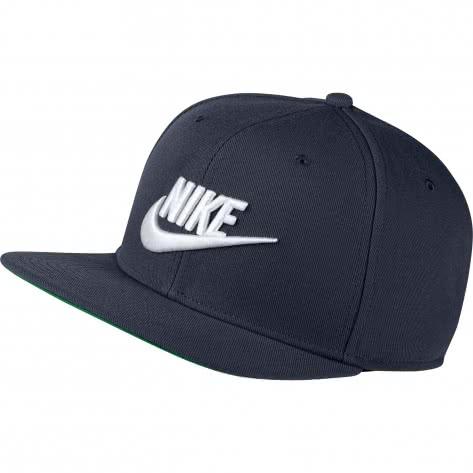 Nike Kappe Sportswear Pro Cap 891284-451 Obsidian/Pine Green/Black/White | One size