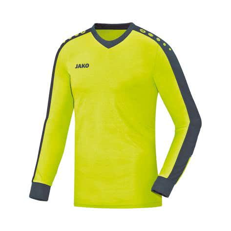 Jako Kinder Torwart Trikot Striker 8916 Lime Anthrazit Größe 116,128