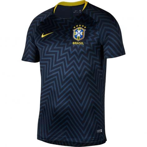 Nike Herren Pre-Match Shirt Dry Brasil Squad Fo...