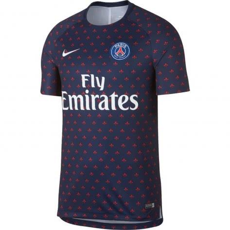 Nike Herren Trainingsshirt Dry Paris St. Germai...