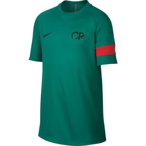Nike Jungen Trainingsshirt CR7 Dry Academy Top SS 894870 Kinetic Green Deep Pewter Größe 147 158,158 170