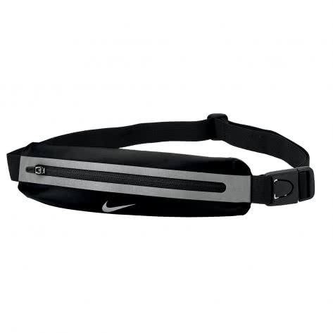 Nike Bauchtasche Slim Waistpack 9038/175-082 Black/Black/Silver | One size