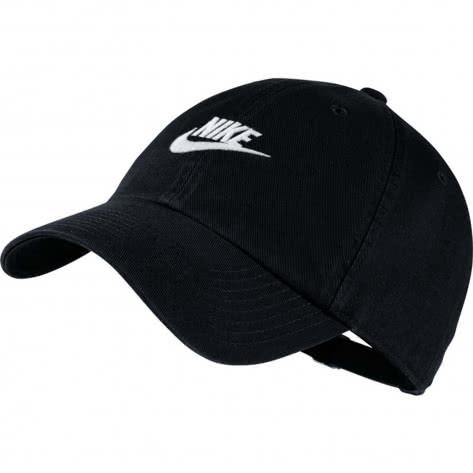 Nike Kappe H86 Futura Washed Cap 913011-010 Black/Black/White | One size