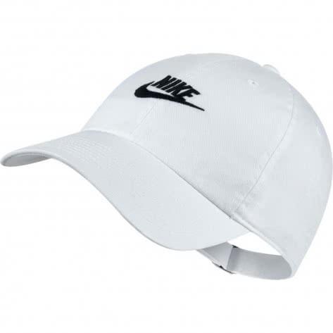 Nike Kappe H86 Futura Washed Cap 913011-100 White/White/Black | One size