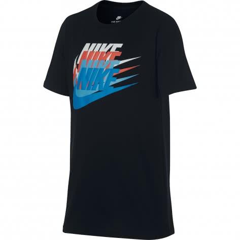 Nike Jungen T-Shirt Sunset Futura Tee 913186 Black Größe 128 137,137 147,147 158