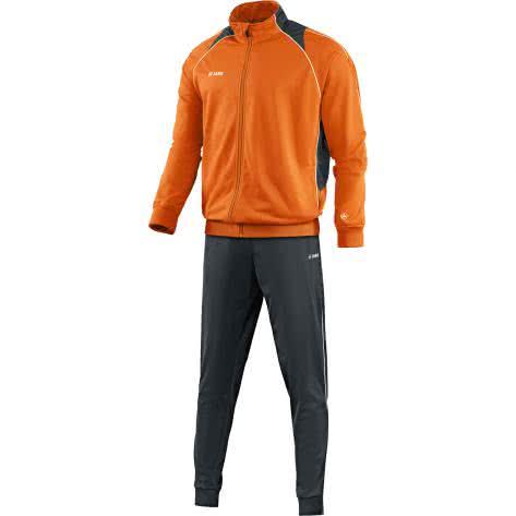 Jako Kinder Polyesteranzug Trainingsanzug Attack 2.0 9172 Orange Anthrazit Größe 152