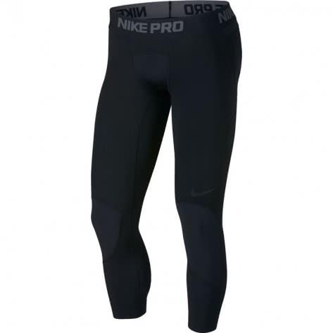 Nike Herren 3/4 Tight Pro 925821-010 XL Black/Black   XL