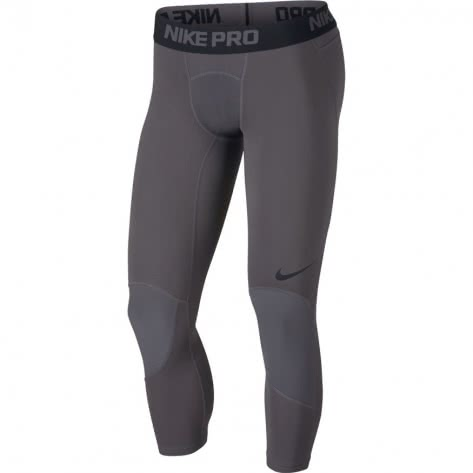 Nike Herren 3/4 Tight Pro 925821-021 XL Dark Grey/Black | XL