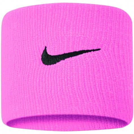 Nike Schweißband Swoosh Wristbands 9380/4-677 Pink Gaze/Oil Grey | One size