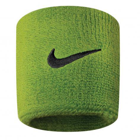 Nike Schweißband Swoosh Wristbands 9380/4-710 Grün/Schwarz | One size