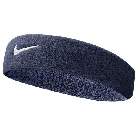 Nike Stirnband Swoosh Headbands 9381/3-416 dark blue/white | One size
