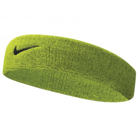 Nike Stirnband Swoosh Headbands 9381/3-710 green/black | One size