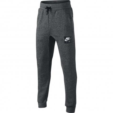 Nike Jungen Trainingshose Nike Air Pant 939585 Charcoal Heathr Black Größe 128 137,137 147
