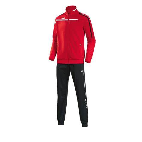 Jako Polyesteranzug Trainingsanzug Performance (9397 9297) Rot Weiß Schwarz Größe 128,140,L,M,S,XL