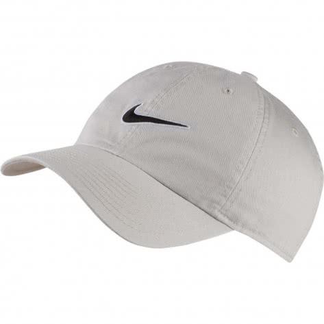 Nike Kappe H86 Essential Swoosh Cap 943091-072 Light Bone/Black | One size