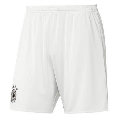 adidas Kinder DFB Away Short EM 2016 off white black Größe 176