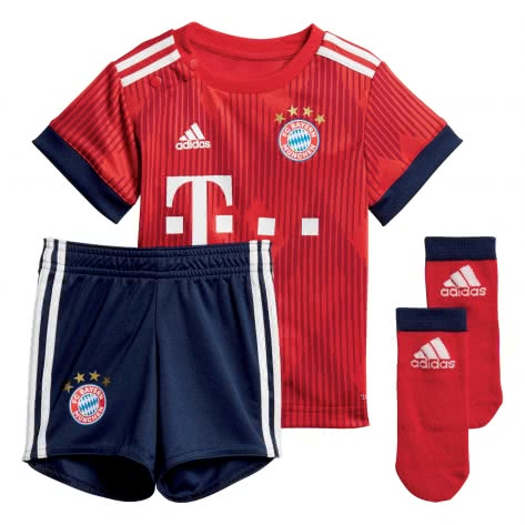 adidas Baby FC Bayern München Home Baby Kit 2018 19 FCB TRUE RED strong red white Größe 68,74,80,86