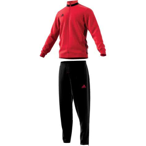 adidas Herren Polyesteranzug Trainingsanzug Condivo 16 AN9830 XXLT scarletblack | XXL tall |