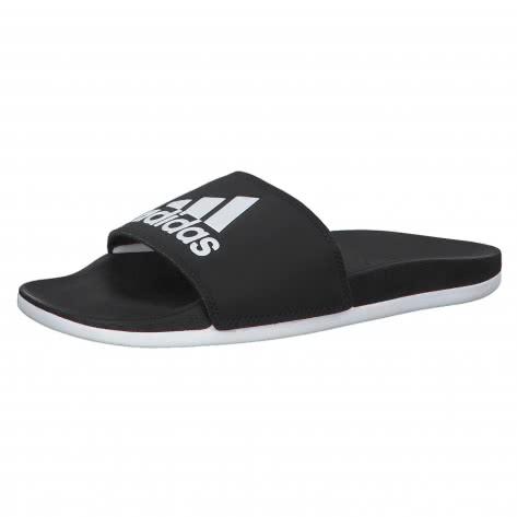 adidas CORE Damen Badeschlappen ADILETTE COMFORT CG3427 43 core black/ftwr white/core black | 43