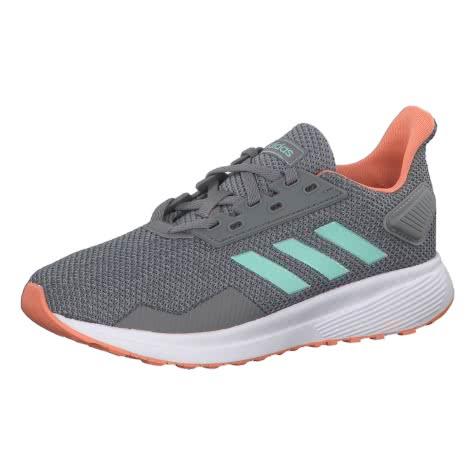 adidas Kinder Laufschuhe Duramo 9 K grey three clear mint light granite Größe 29,32,34,35,35 1 2,36 2 3