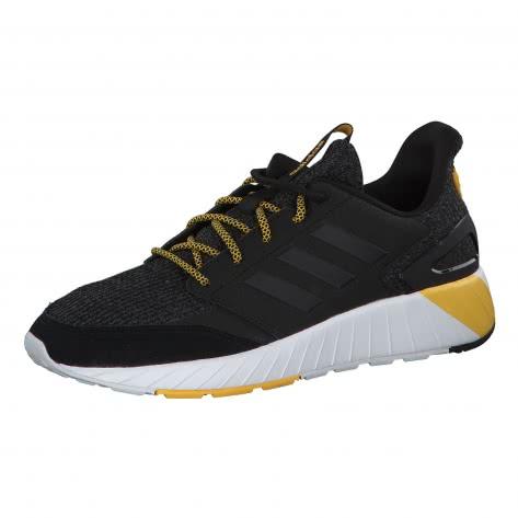adidas CORE Herren Sneaker QUESTARSTRIKE G25770 42 core black/core black/bold gold | 42