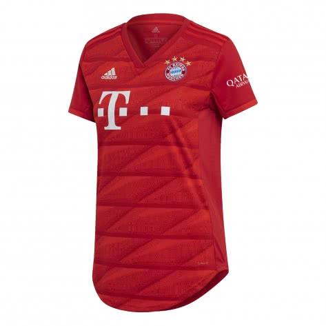 adidas Damen FC Bayern München Home Trikot 2019/20 DX9252 XXS FCB TRUE RED | XXS