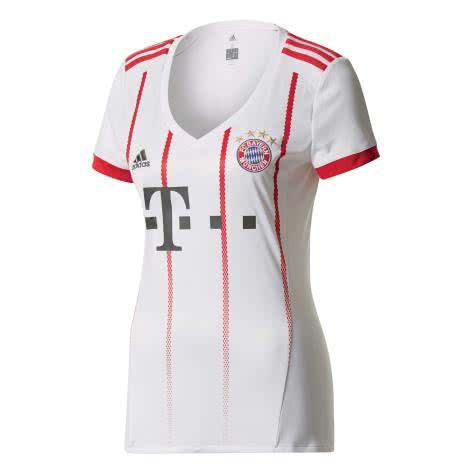 adidas Damen FC Bayern München UCL Trikot 17/18 AZ7717 XXS white/fcb true red | XXS