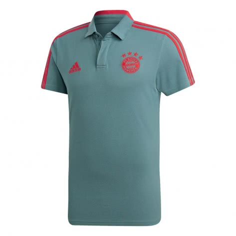 adidas Herren FC Bayern Müchen Baumwoll Poloshirt 2018/19