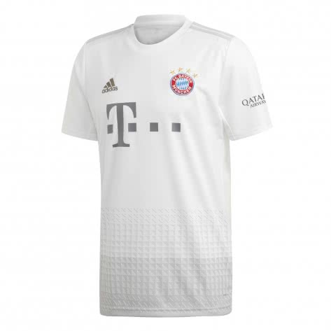 adidas Herren FC Bayern München Away Trikot 2019/20 DW7406 XS white | XS