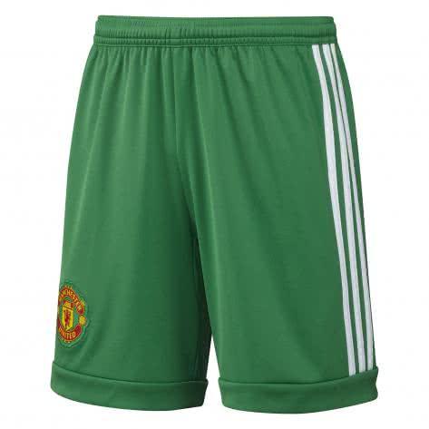 adidas Herren Manchester United Torwart Home Short 2015/16 Green/White Größe: S