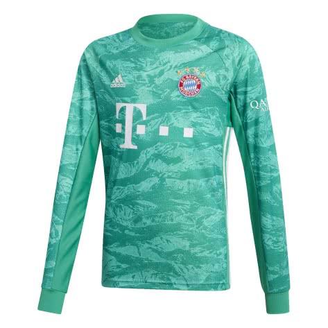 adidas Kinder FC Bayern München Torwarttrikot 2019/20 DX9259 164 core green | 164