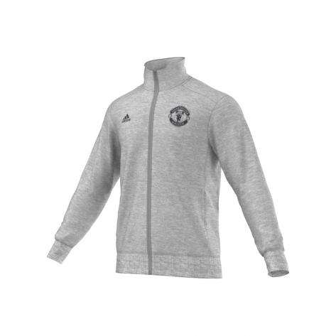 adidas Herren Manchester United Trainingsjacke 15/16 Grey Heather Größe: XXL