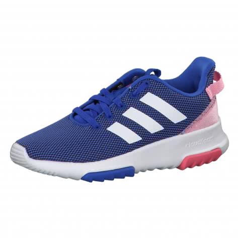 adidas CORE Kinder Sneaker Cloudfoam Racer TR hi res blue s18 ftwr white light pink Größe 28 1 2,29,30,30 1 2,31,31 1 2,32,33 1 2,35 1 2,36 2 3,37 1 3,38,38 2 3,39 1 3