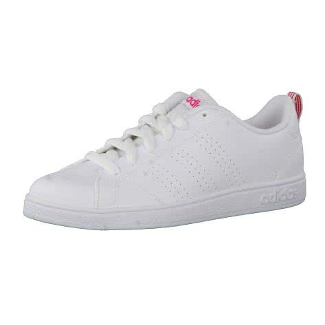 adidas CORE Kinder Sneaker VS ADVANTAGE CLEAN FTWWHT FTWWHT SUPPNK Größe 33,33 1 2,38,38 2 3