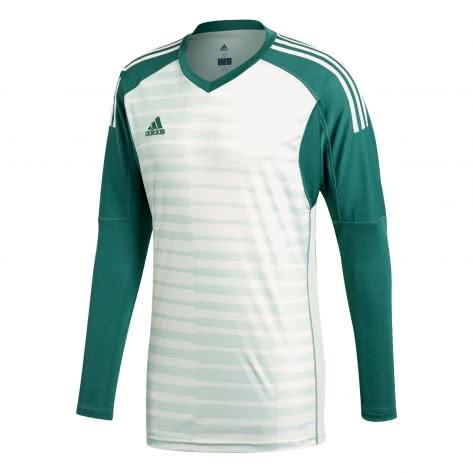 adidas Herren Torwarttrikot AdiPro 18 Jersey Longsleeve CV6352 XXL tech forest/aero green s18/off white | XXL