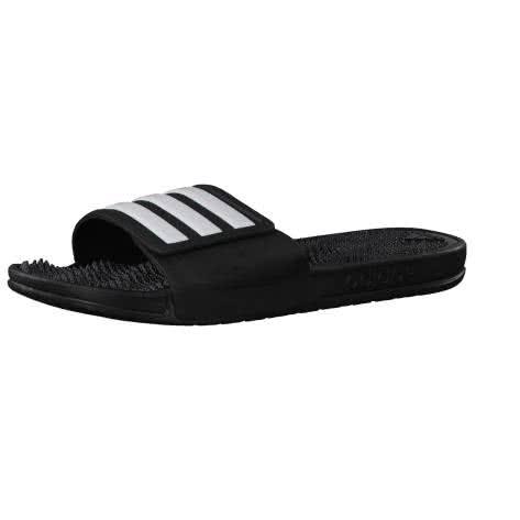 adidas Herren Badelatschen Adissage 2.0 Stripes M core black/ftwr white/core black Größe: 39 1/3,43 1/3,46,47 1/3,48 2/3,50