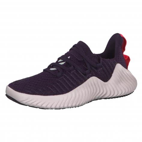 adidas Damen Trainingsschuhe AlphaBOUNCE TRAINER BB9088 38 2/3 Legend Purple/Orchid Tint/Shock Red | 38 2/3