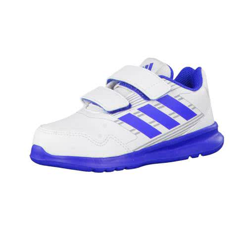 adidas Kinder Turnschuhe AltaRun CF I ftwr white blue mid grey s14 Größe 19,20,21,22,25,27