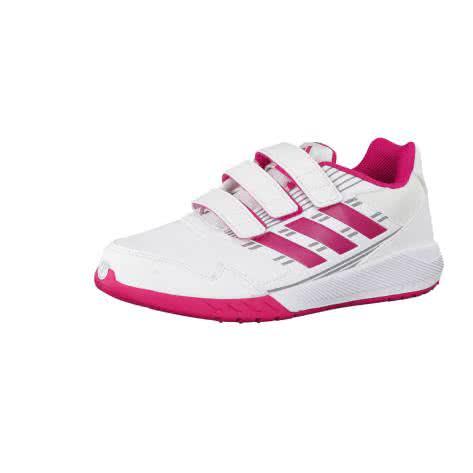 adidas Kinder Laufschuhe AltaRun CF K ftwr white bold pink mid grey s14 Größe 35 1 2