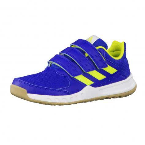 adidas Kinder Trainingsschuhe FortaGym CF K CG2679 28 1/2 collegiate royal/semi solar yellow/ftwr white | 28 1/2