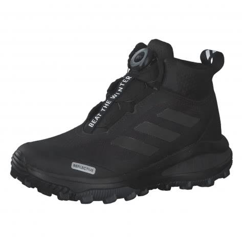 adidas Kinder Wanderschuhe FortaRun BOA ATR BTW K FV3486 35 1/2 Core Black/Reflective/Grey Six | 35 1/2
