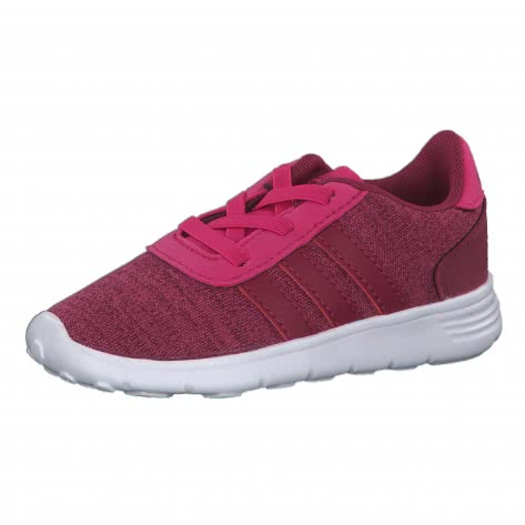 adidas Kinder Sneaker LITE RACER INF B76000 23 1/2 real magenta/mystery ruby f17/ftwr white   23 1/2