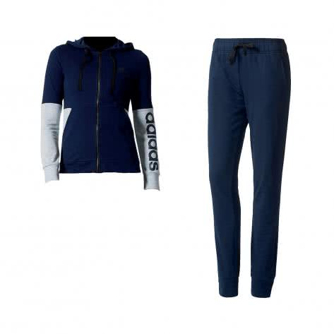adidas Damen Trainingsanzug Marker Hoody TS BK4683 S Collegiate Navy/Black | S